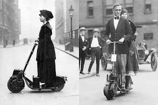 El patinete con motor de 1915
