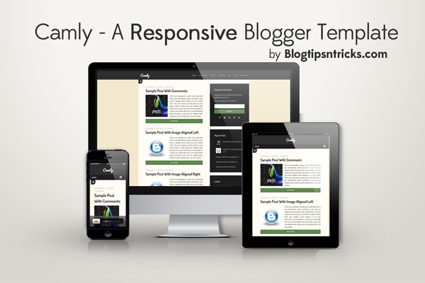 Camly - A Responsive and Fast Blogger Template