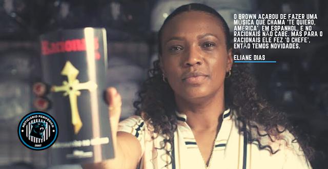Eliane Dias | Vem música nova do Brown, do Racionais e projeto novo com a Netflix