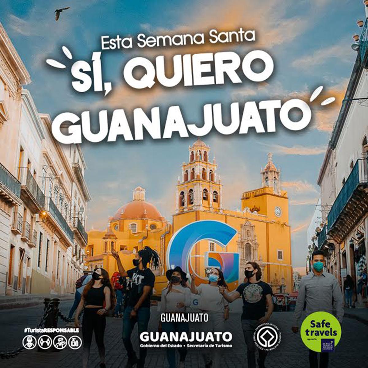 GUANAJUATO LANZA CAMPAÑA REACTIVACIÓN TURÍSTICA 01