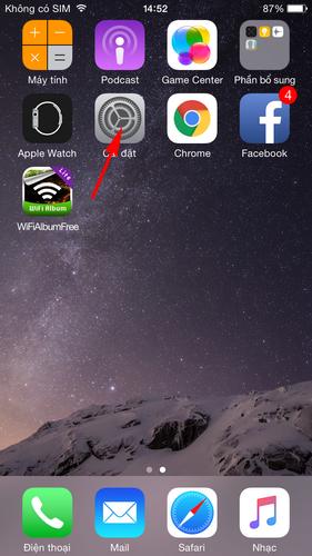 Lỗi mất ứng dụng Facetime trên iPhone cách khắc phục