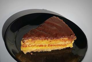 Tarta Extra Rápida De Bizcocho Y Flan Sin Lactosa