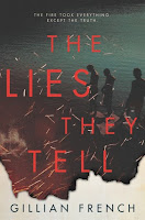 The Lies They Tell by Gillian French book cover and review