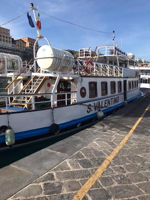 Boat in Sorrento