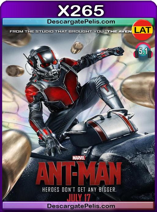 Ant-Man El hombre hormiga 2015 1080P x265 Latino – Ingles
