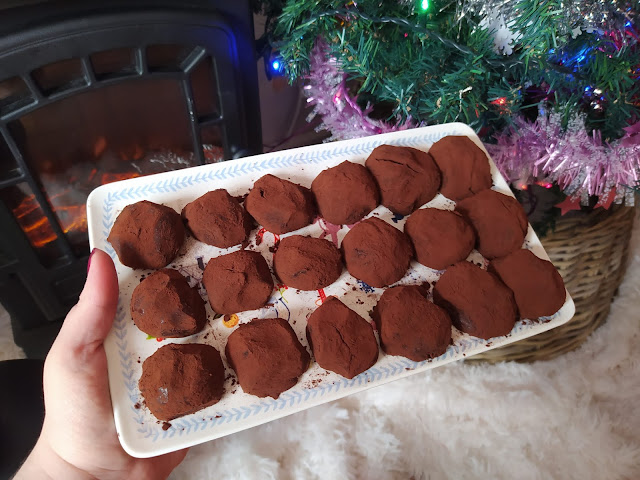 recette Truffes chocolat caramel