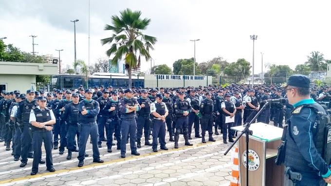 Polícias militar e civil: Camilo promete novos concursos ainda em 2019