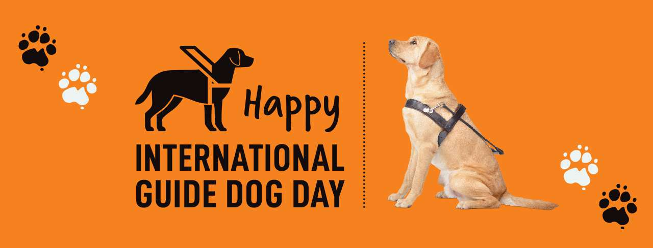 International Guide Dog Day Wishes for Whatsapp
