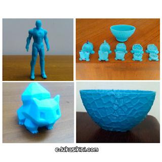 Bagian khas dari printer 3D