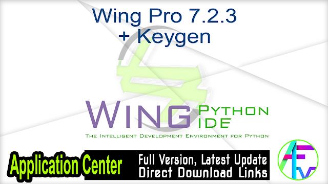 Wing Pro 7.2.3 + Keygen
