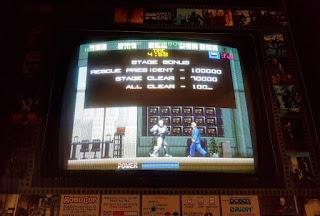 RoboCop Arcade game at Retro Arcade in Warrington