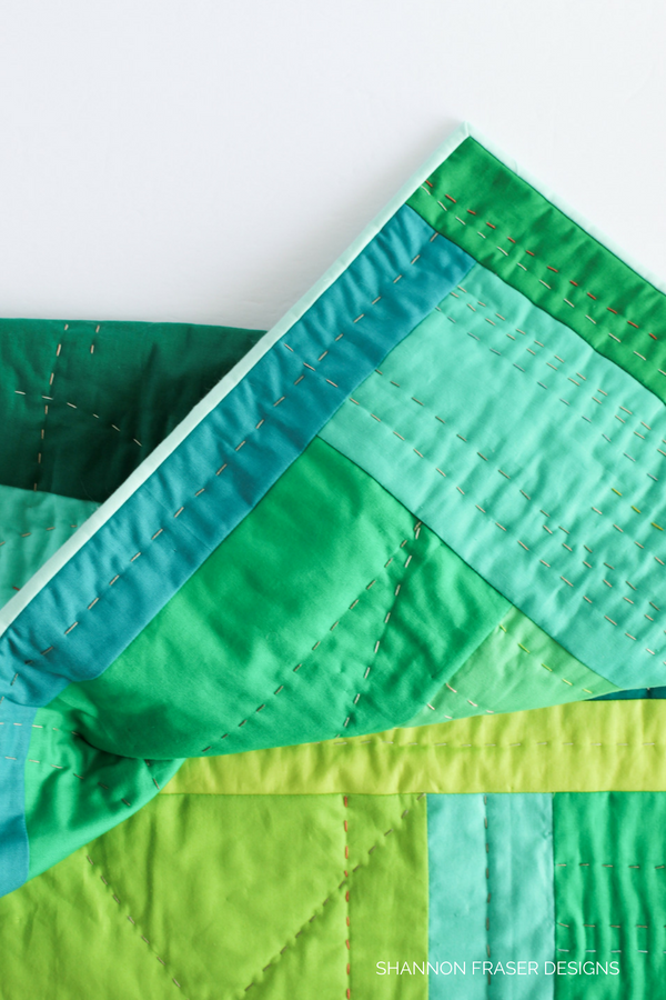 """The """"F"""" Quilt - an exploration of feelings through improv quilting 