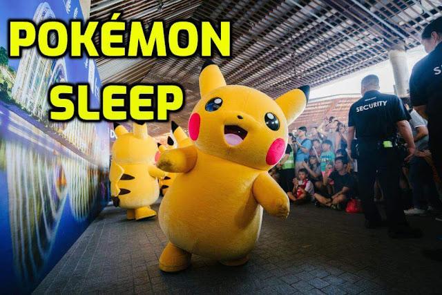 الكشف عن لعبة بوكيمون الجديدة إلعب Pokémon و أنت نائم