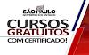Governo de SP abre 240 mil vagas em Cursos gratuitos com certificado. Saiba Mais