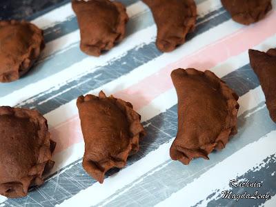 Pierogi czekoladowe