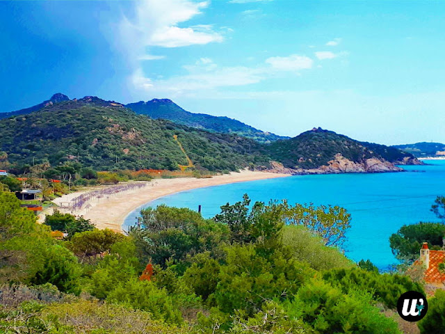 Campus beach, Villasimius | Sardinia, Italy | wayamaya