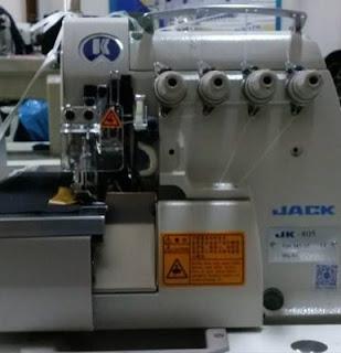 harga mesin obras benang empat Jack