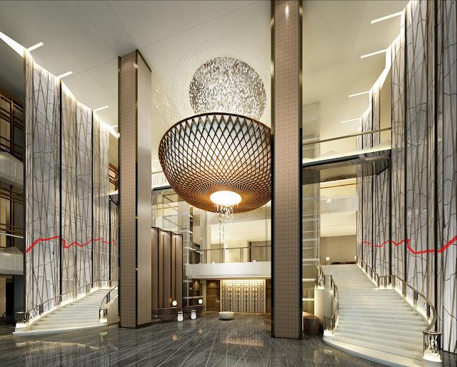 Sảnh chờ dự án căn hộ Swisstouches La Luna Nha Trang