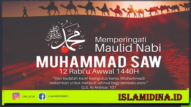 Makna dan Hikmah Maulid Nabi Muhammad SAW