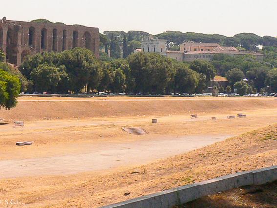 Circo Maximo hoy en dia. El circo de Roma