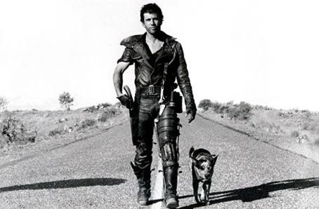 Mad Max, Max Rockatansky, et son chien, film culte de George Miller