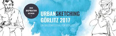 UrbanSketching Tage Görlitz 2017