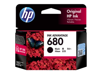 HP 680 Ink Advantage Cartridge (Black) by hp