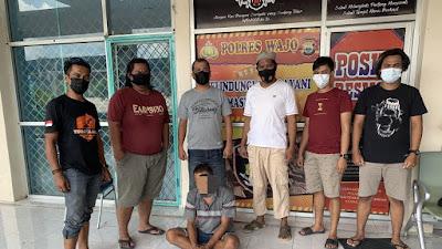 Resmob Polres Wajo Amankan DPO Curanmor di Sulteng