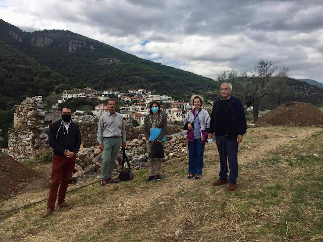 Στη Επίδαυρο η αντιπεριφερειάρχης Πελοποννήσου για τον Πολιτισμό και την Παιδεία Αθηνά Κόρκα
