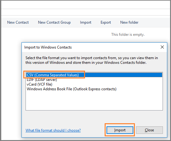 Ways for Importing Excel Contacts to Outlook Address Book