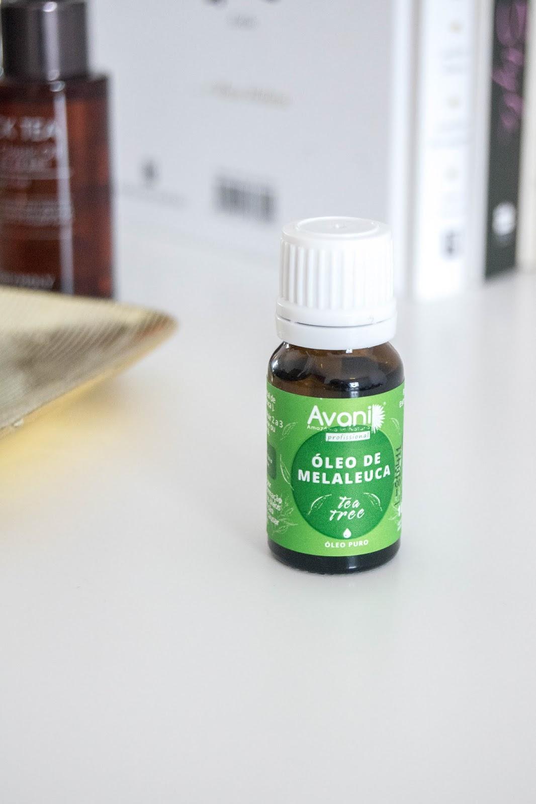 Óleo essencial de Melaleuca da Avani Profissional.