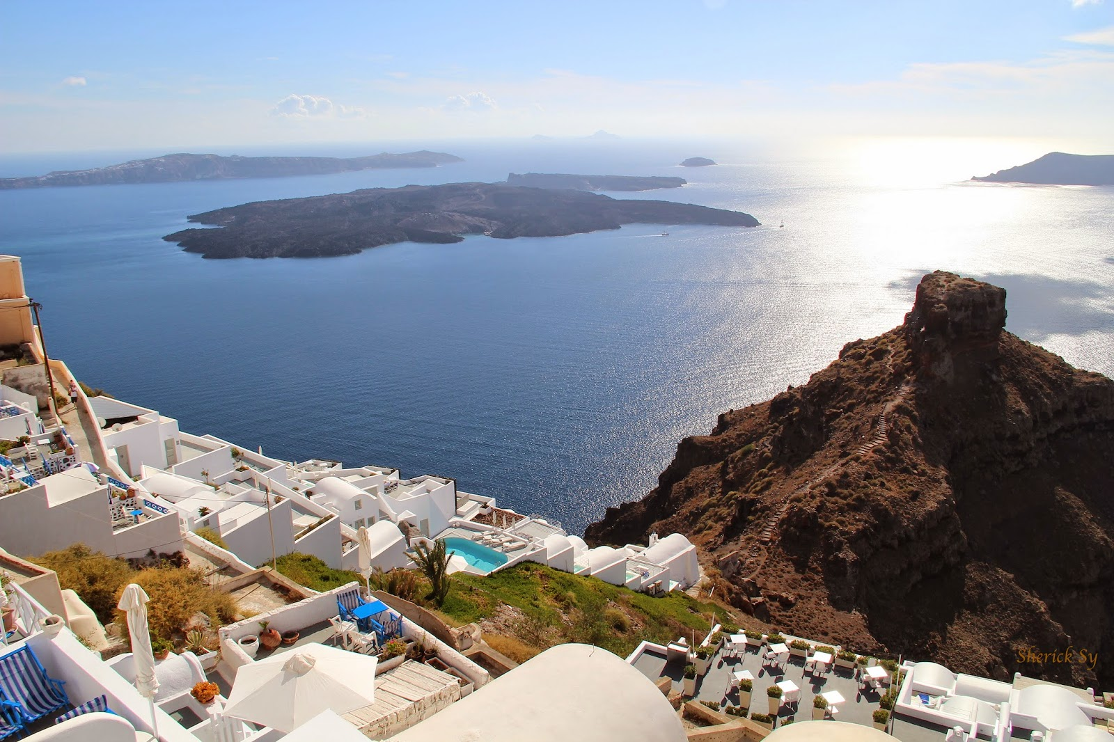 Vallais Villas, Imerovigli, Santorini, Greece