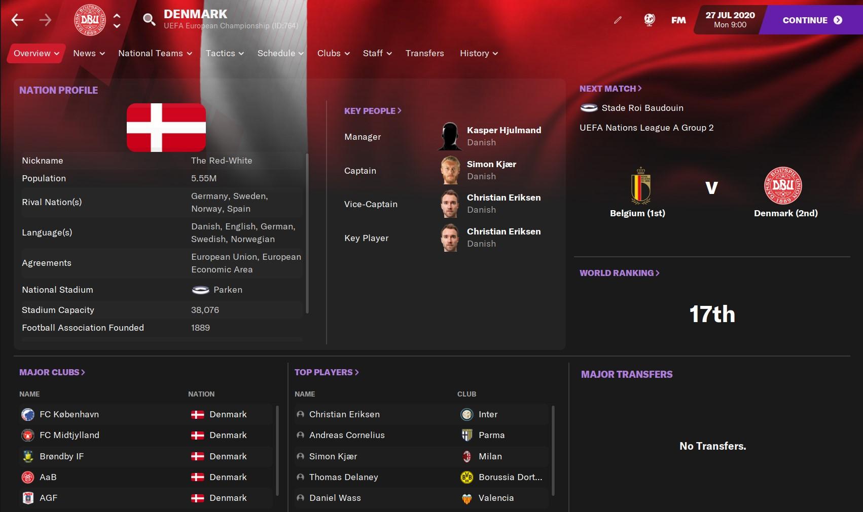 Denmark FM21