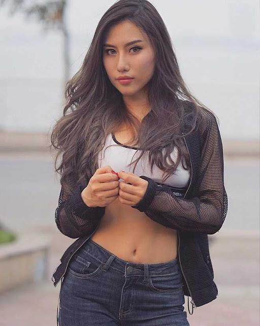 """Hot girl """"siêu vòng 3"""": Người có body khỏe khoắn, kẻ xinh như gái Tây"""