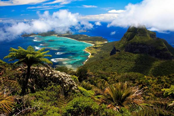 Το νησί Lord Howe