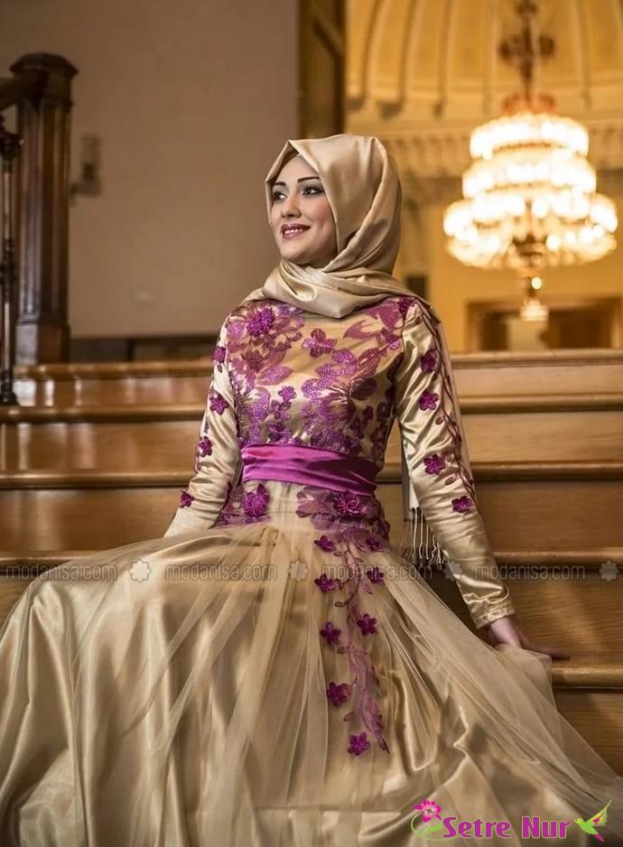 40259f9dc ... فساتين حريم السلطان الأخرى التي اجتاحت السوق التركي بعد مسلسل حريم  السلطان ، شاهدي المجموعة بأكملها وانتقي منها ما يعجبك.  hijab%2Bmodern%2B%25281%2529