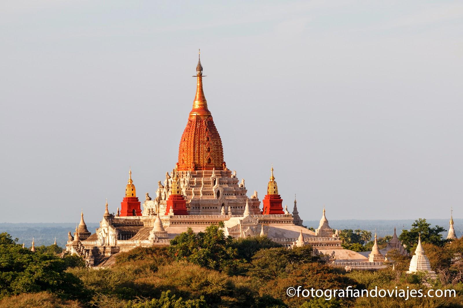 Ananda Pahto en Bagan