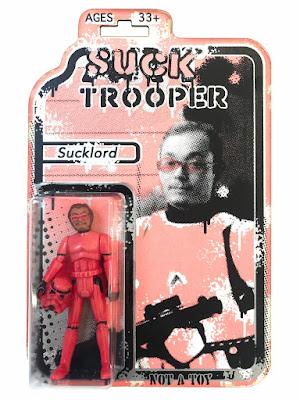 "New York Comic Con 2019 Exclusive Art Trooper ""Suck Trooper"" Star Wars Resin Figures by RYCA x DKE Toys"