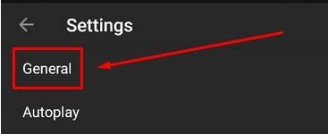 Setelan Aplikasi YouTube