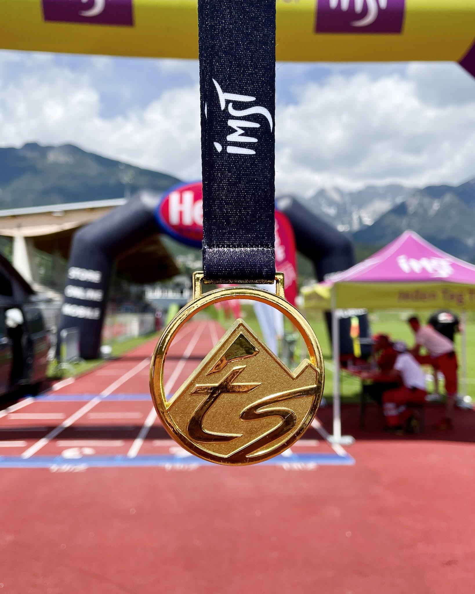 Tschirgant Sky Run Medal Medaille