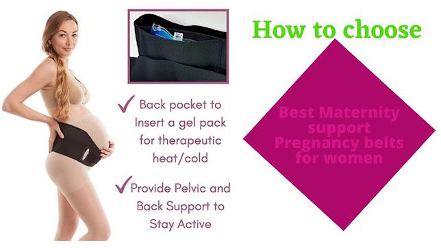 best maternity support belts for women