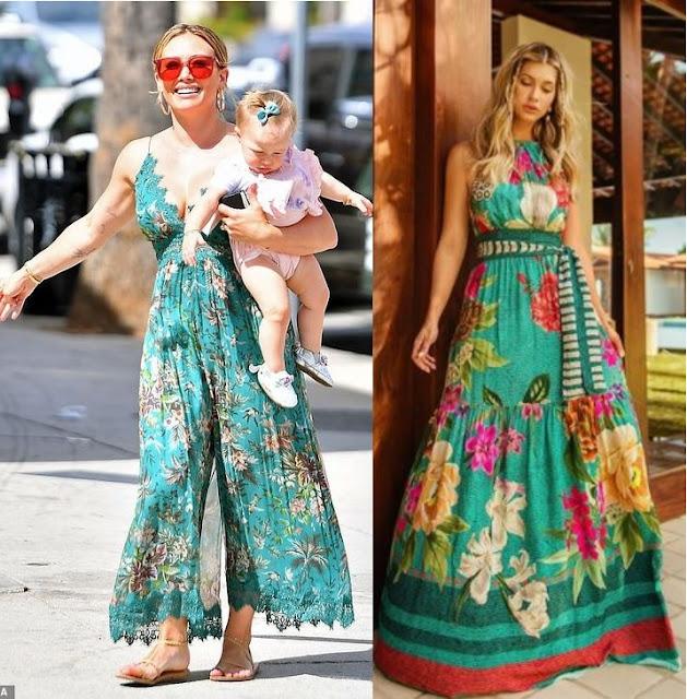 12 Looks inspiração com vestido, Hilary Duff, Renata Freire