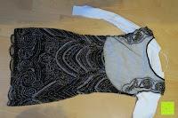 Kleid mit Shirt hinten: PrettyGuide Damen 1920er Stickerei Pailletten Deco Cocktail Gatsby Flapper Kleider