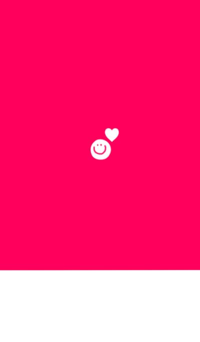 Vivid pink and heart