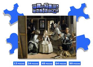 http://www.puzzlesonline.es/puzzle/las-meninas/