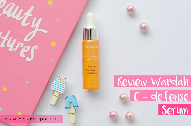Wardah C-defense Serum Vitamin C