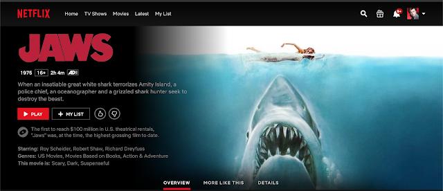 Jaws ตำนานฉลามกินคน