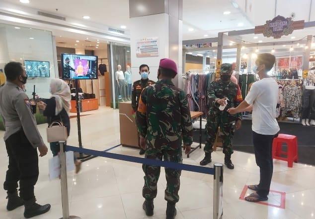 Kodim 0410/KBL tergabung dalam Satgas Penanganan Percepatan Covid-19 Kota Bandar Lampung terus melakukan upaya untuk mengantisipasi terhadap penyebaran dan penularan virus Corona