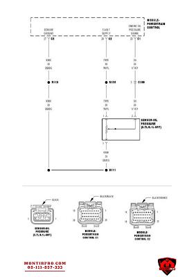 Wiring Diagram Engine Oil Pressure