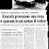 10 maggio 1977:  partita di calcio innesta rissa politica alla Camilluccia. Undici arresti